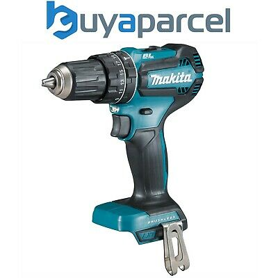 Makita DHP485Z 18V LXT Lithium Ion Brushless Combi Hammer Drill - Bare RP DHP484 • 91.99£