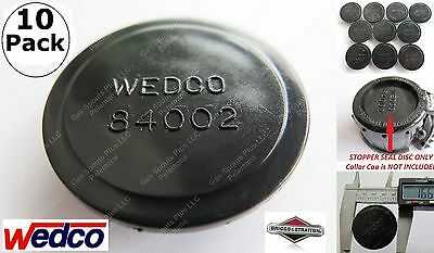 $ CDN57.04 • Buy 10 WEDCO STOPPERS Seal Discs 84002 FIX YOUR CAN Briggs Essence 5 Gallon Gas Fuel