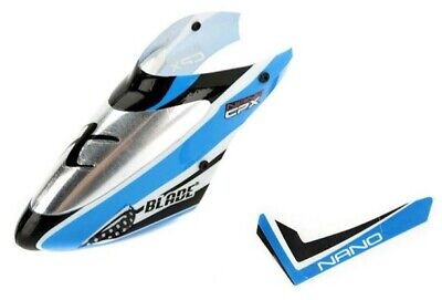 £8.32 • Buy Blade BLH3318A Nano CP X Complete Blue Canopy With Vertical Fin CPX NCPX NCP X