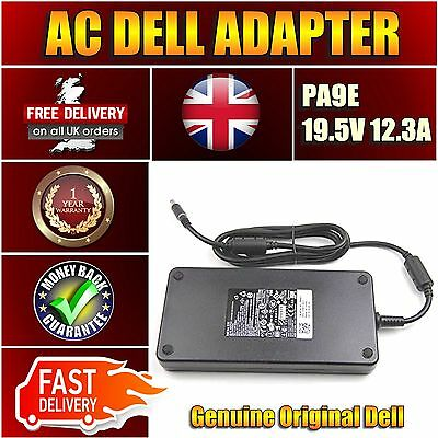 New DELL PRECISION M6400 M6500 240w PA9E Laptop Power Adapter Charger UK • 240.25£