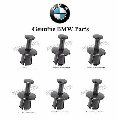 $5.23 • Buy 6-Pieces For BMW Engine Cooling Fan Shroud Clip E30 E31 E32 E34 E36 E38 E46