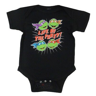 £13.01 • Buy Teenage Mutant Ninja Turtles Life Of The Party Baby Infant Snapsuit
