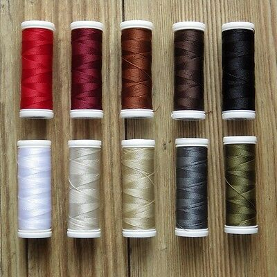 £3.99 • Buy VERY STRONG LEATHER SEWING THREAD CHOICE OF COLOURS 120m