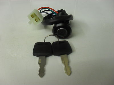 Ignition Switch For Honda CG 125 4 Wire BLock • 7.95£