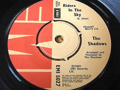 The Shadows - Riders In The Sky     7  Vinyl • 3.49£