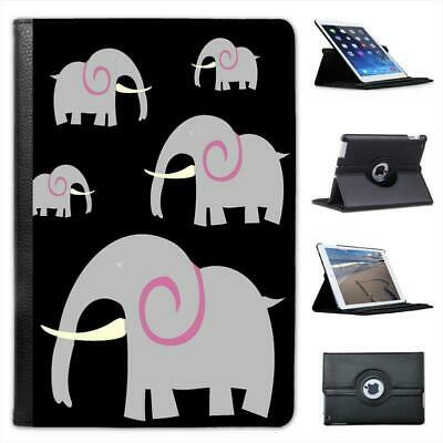 £9.99 • Buy African Indian Grey Elephant With Huge Tusk Leather Case For IPad Mini & Retina