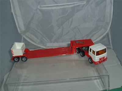 £29 • Buy Siku Toys Germany Man 1150 Low Loader Truck & Trailer No Mirrors In Used !!!