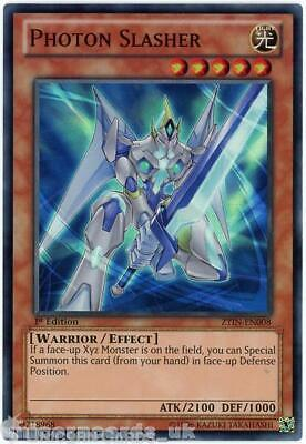 £1.45 • Buy ZTIN-EN008 Photon Slasher Super Rare 1st Edition Mint YuGiOh Card