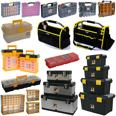 View Details Tool Box Organiser Plastic Stainless Steel Professional Draw Cabinet Screws Nail • 21.99£
