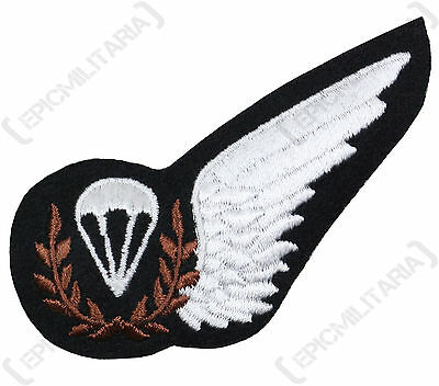 WW2 British RAF PARACHUTE JUMP INSTRUCTOR WING Flying Badge Trade Patch Brevet • 5.45£