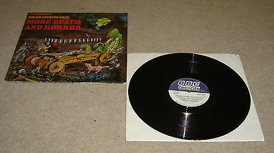 £24.99 • Buy BBC Sound Effects No. 21 More Death And Horror Vinyl LP Rare - EX