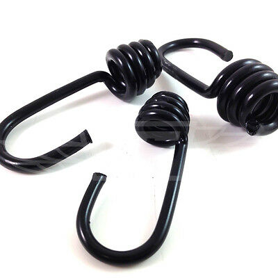6mm 8mm 10mm PLASTIC COATED STEEL WIRE HOOKS SHOCK CORD BUNGEE ELASTIC ROPE • 1.99£