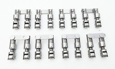 AU294.26 • Buy Sbc Chevy/gm 265-400 Pro Racer Solid/mechanical Roller Lifters Vertical Link Bar