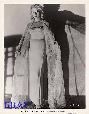 $ CDN53.44 • Buy Peggie Castle Busty VINTAGE Photo Beginning Of The End