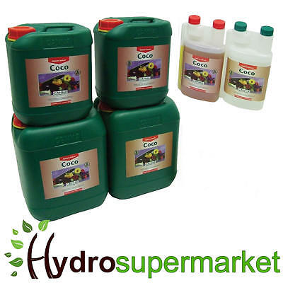 £17.95 • Buy Canna Coco A + B Veg And Flower 1l  5, 10 Litre Nutrient For Hydroponic Growing
