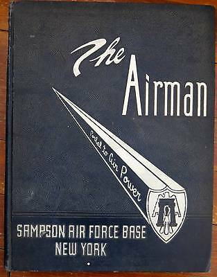 $120.01 • Buy 1955 Sampson Afb Air Force Base Training Yearbook The Airman New York Military