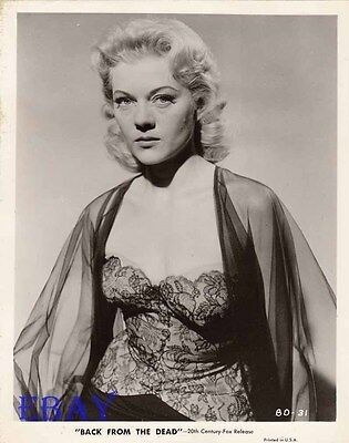 $ CDN60.12 • Buy Peggie Castle Sexy VINTAGE Photo Back From The Dead