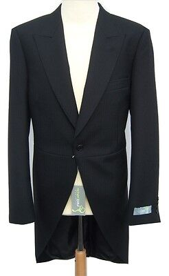 £79 • Buy 100% Wool Black Ex Hire Tailcoat Wedding Morning Suit Tails Perfect For Ascot