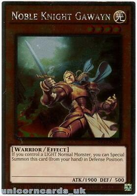 NKRT-EN004 Noble Knight Gawayn Platinum Rare Limted Edition Mint YuGiOh Card • 0.99£