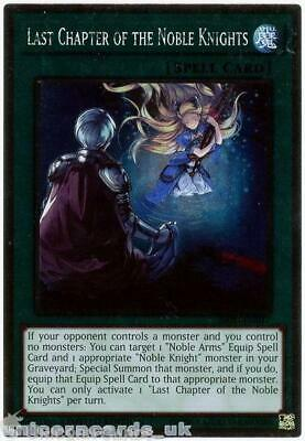 NKRT-EN017 Last Chapter Of The Noble Knights Platinum Rare Mint YuGiOh Card • 1.10£