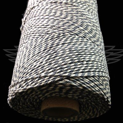 £4.59 • Buy BEAUTIFUL BAKERS TWINE SLATE GREY TWO TONE 2mm 2 PLY - STRING CORD EVERLASTO