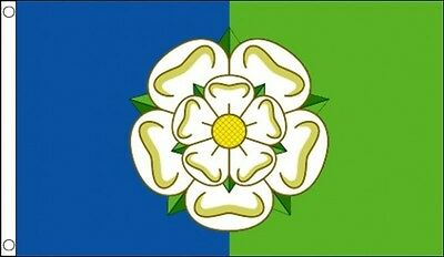 East Riding Of Yorkshire Flag 5 X 3 FT - 100% Polyester With Eyelets - English • 4.99£