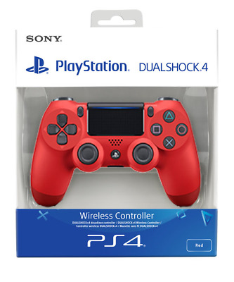 PS4 DualShock 4 Controller Magma Red V2   BRAND NEW SEALED OFFICIAL PAL • 41.99£