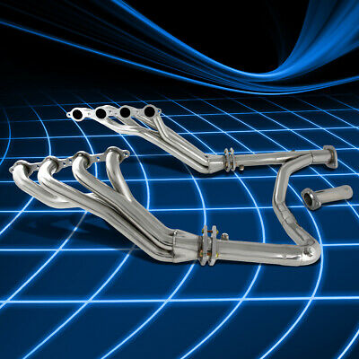 $228.99 • Buy For Chevy/GMC GMT900 4.8/5.3/6.0 V8 SS Long Tube Header Manifold Exhaust+Y-Pipe