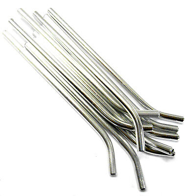 £2.30 • Buy L11244 RC Nitro Fuel Refill Bottle Pipes X 10 Silver Pipes Only 6mm Diameter