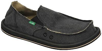 Sanuk Vagabond Sidewalk Surfer - Charcoal - New • 40.03£