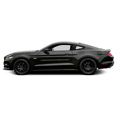 $170.95 • Buy For FORD MUSTANG Painted Body Side Mouldings Moldings W/ Chrome Insert 2005-2018