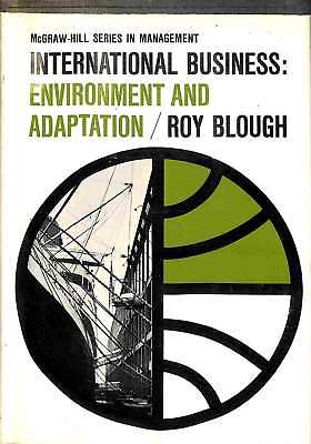 £7.35 • Buy International Business;environment And Adaptation (McGraw;Hill Series In Managem