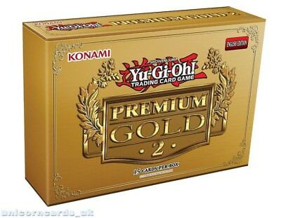 YuGiOh! Premium Gold 2 : Sealed Pack Only, No Box :: UK/European Edition! • 15.29£