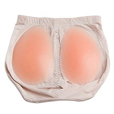 £12.90 • Buy Silicone Buttocks Pads Padded Pants Bum Butt Hip Knickers Fake Size Enhancer