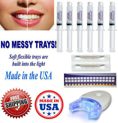 AU14.29 • Buy Teeth Whitening 44% Peroxide 3d White Dental Gel Kit Laser Led Uv Light System