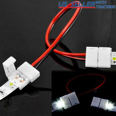 $4.99 • Buy 10 X PCB Connector Adapter For 8mm 2835 Single Color LED Strip Lighting