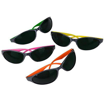 36 Pairs Neon Wrap Around Sunglasses Hot Colors Great Party Luau Favor Free Ship • 19.42£