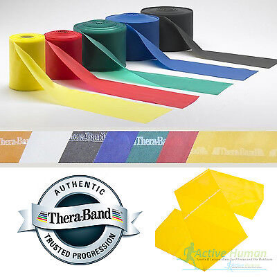 $ CDN10.24 • Buy Theraband Resistance Bands Exercise Fitness Physio Thera Band Strips Catapult