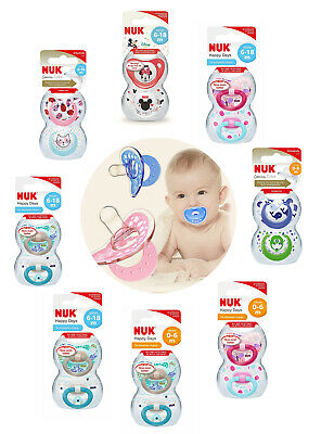 £6.19 • Buy Nuk All Size & Design Silicone Soothers/Dummies Are Available