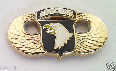 $5.69 • Buy 101ST AIRBORNE DIVISION WINGS (SMALL 1 GOLD) US ARMY Military Hat Pin P12768 EE