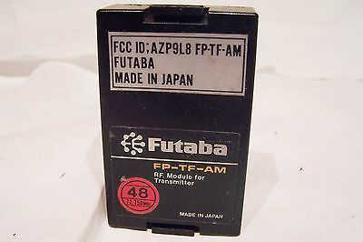 $32.99 • Buy FUTABA G TRANSMITTER MODULE FP-TF-AM 72.750mhz WIDE BAND CH48 FGK FREE SHIP USA
