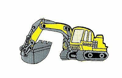 AU5.07 • Buy Patch Backpack Excavator Trackhoe Kids Clothes Bulldozer Tractor Loader Ion