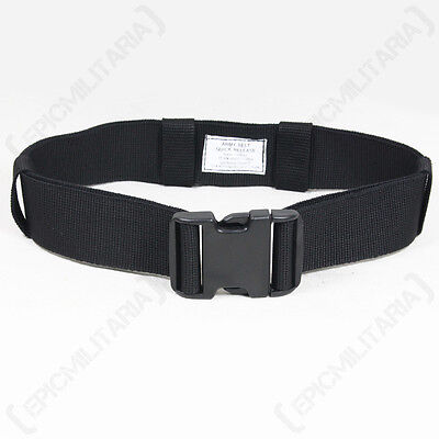 £6.75 • Buy Quick Release Adjustable Army Belt 50mm - One Size Fits All - Military Trouser