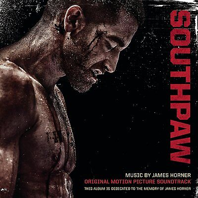 SOUTHPAW SOUNDTRACK - MUSIC BY JAMES HORNER: CD ALBUM (July 24th 2015) • 10.25£