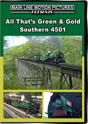 £14.16 • Buy All Thats Green And Gold Southern Railway 4501 DVD NEW Main Line Norfolk NS