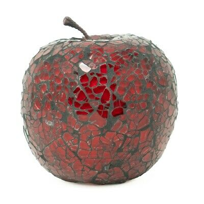 £9.95 • Buy Mosaic Glass Apple (Red) Home Decorative Decor Fruit Display Piece Gift