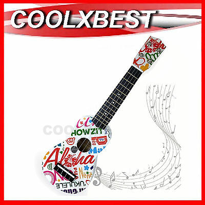 AU28.99 • Buy New 21  White Travelman Ukulele 12 Frets 4 Strings Ukelele Children Guitar