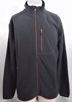 2016 NWT MEN'S QUIKSILVER COSMO FZ FLEECE $80 L Black Polartec Thermal Pro  • 64$