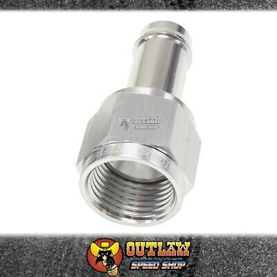 AU23 • Buy AEROFLOW -6AN TO 5/16  (7.93mm) STRAIGHT HOSE BARB FITTING SILVER - AF411-06-05S