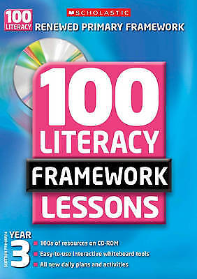 £6.78 • Buy 100 New Literacy Framework Lessons For Year 3 Wi, Gillian Howell; Jon Mitchell,
